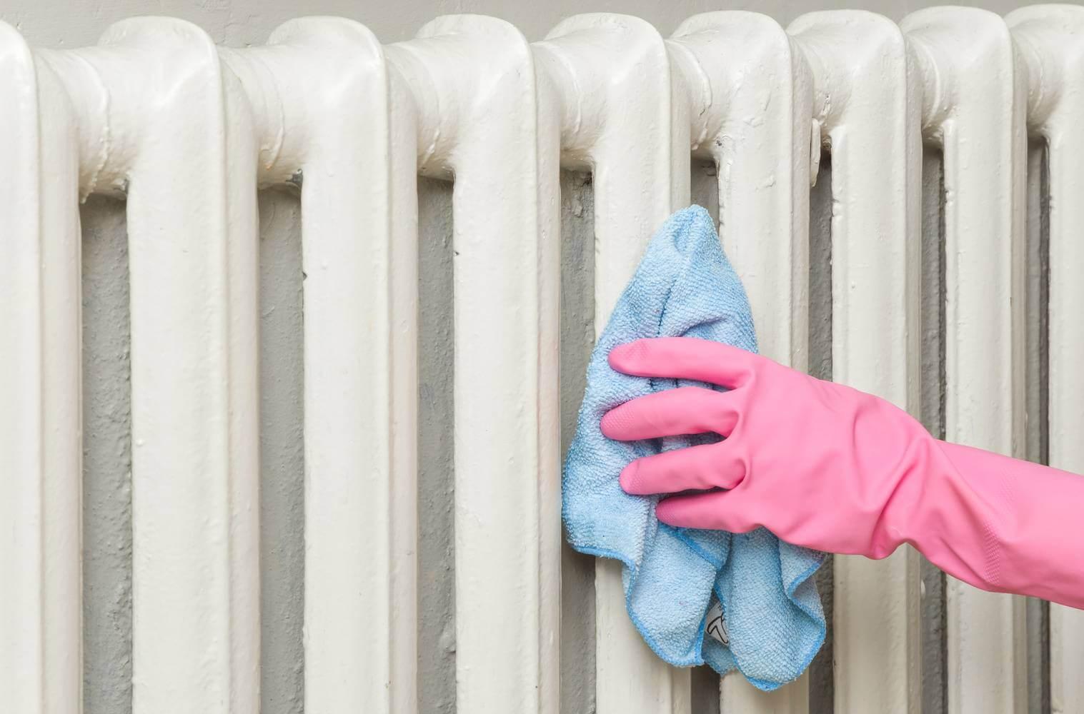 советы по чистке радиаторов отопления