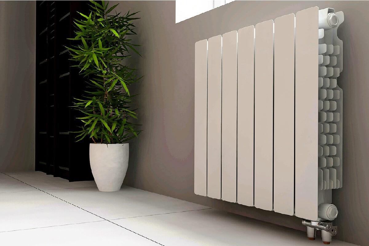 чистка радиатора отопления